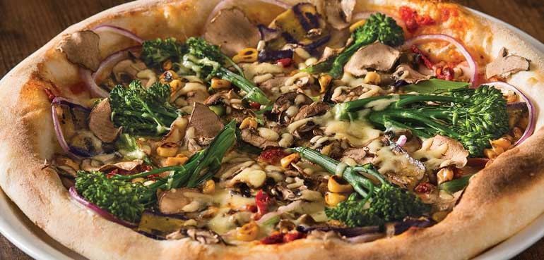 Healthy Dining California Pizza Kitchen Style